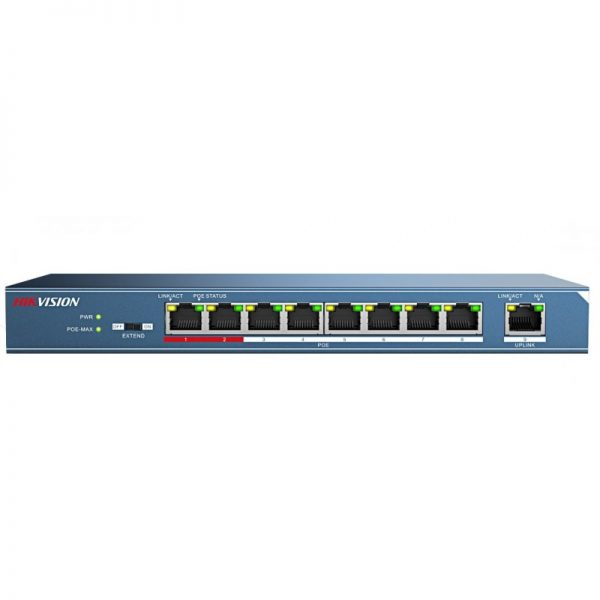ds-3e0109p-e-front-8-port-high-power-poe-switch
